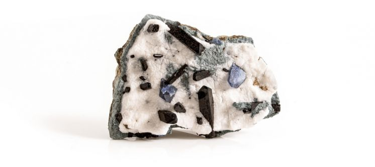 American Gemstones: Benitoite from California